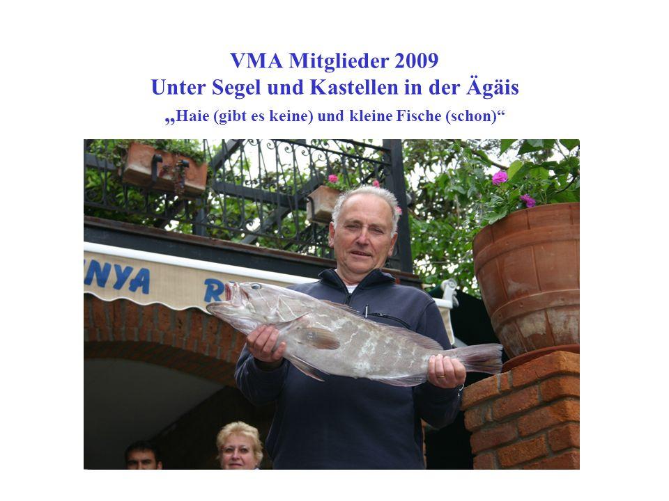 VMA Mitglieder 2009 Unter Segel und Kastellen in der Ägäis Blick auf den Hafen von Simi...