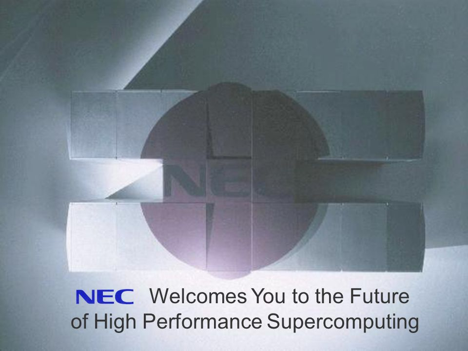 European Supercomputer Systems 11 Welcomes You to the Future of High Performance Supercomputing