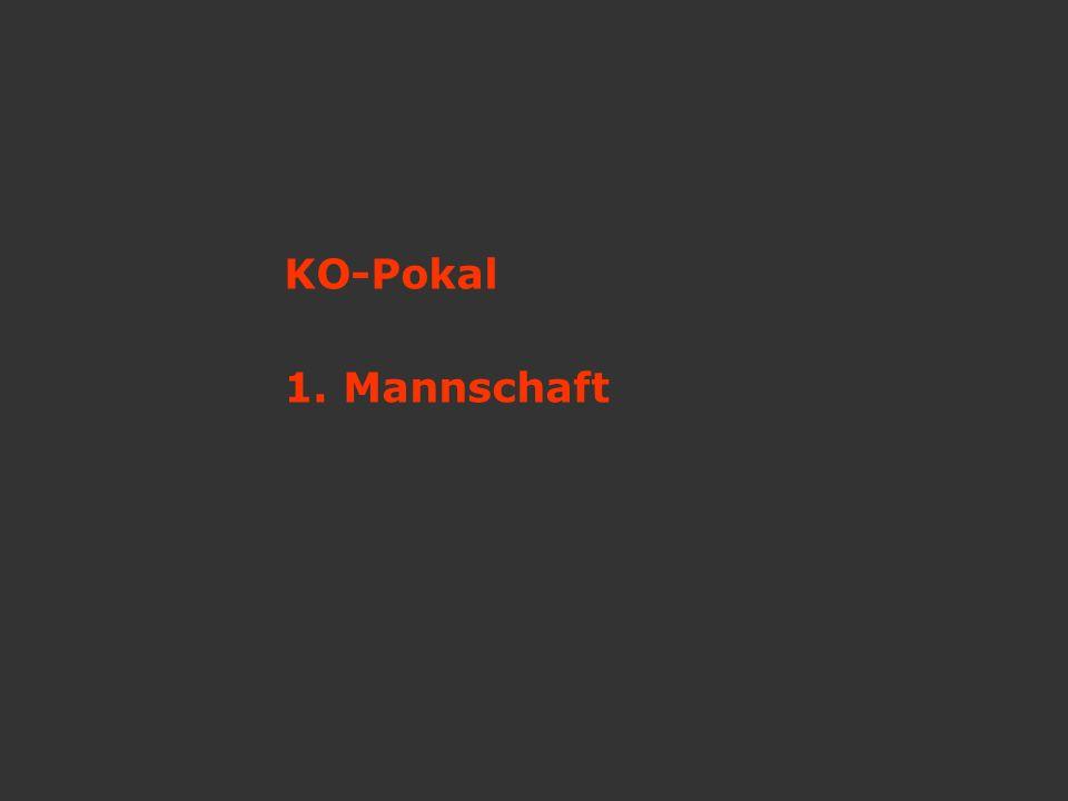 KO-Pokal 1. Mannschaft