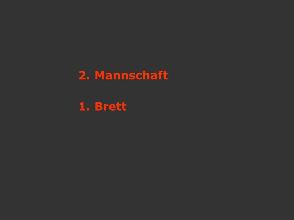 2. Mannschaft 1. Brett