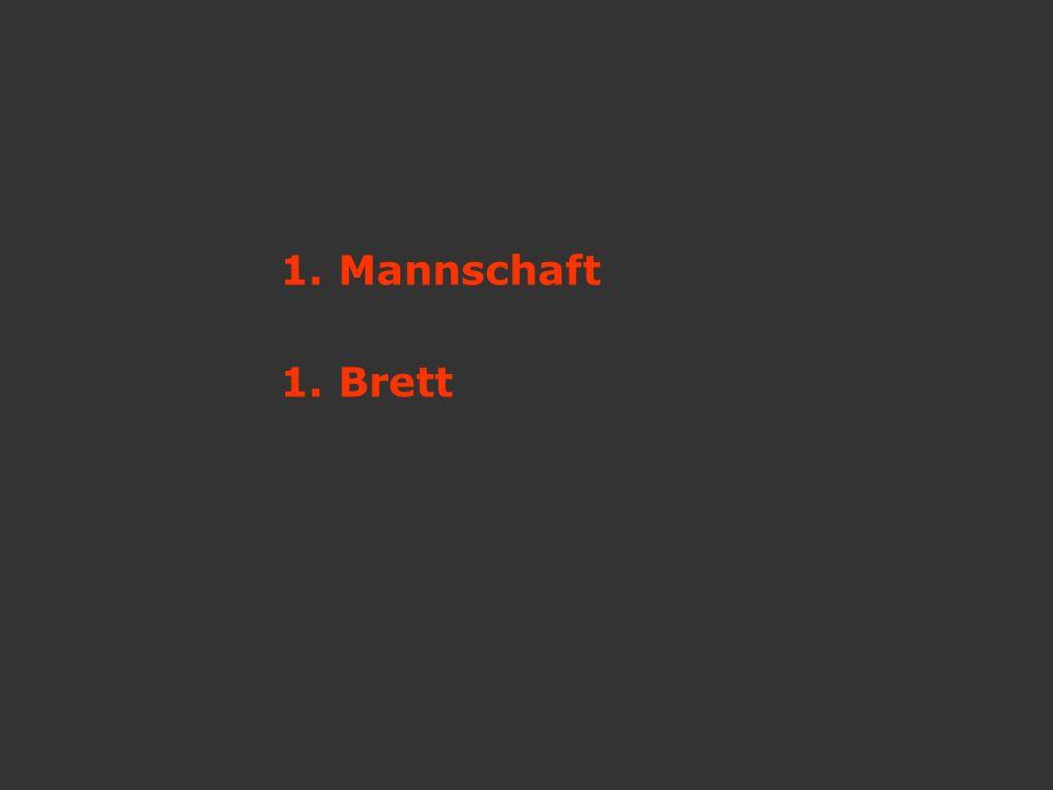 1. Mannschaft 1. Brett