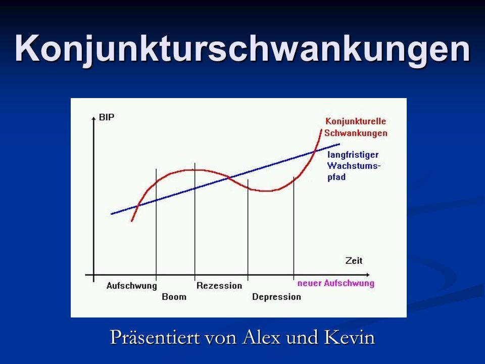 Konjunkturschwankungen Präsentiert von Alex und Kevin