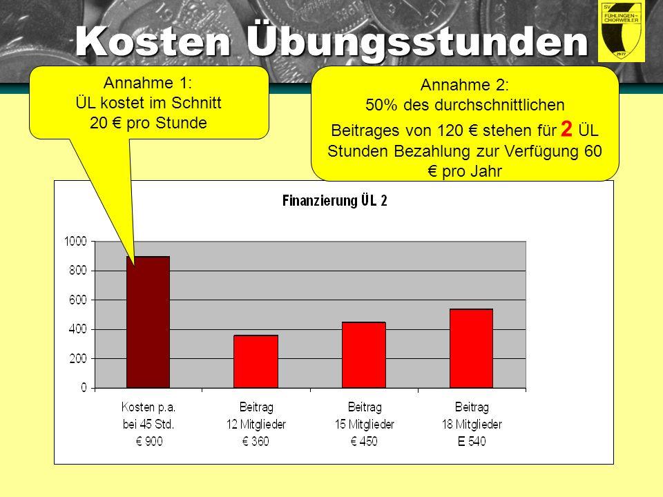 Wertschöpfung Ehrenamt Anleitung: Dies sind eingebettete Diagramme.