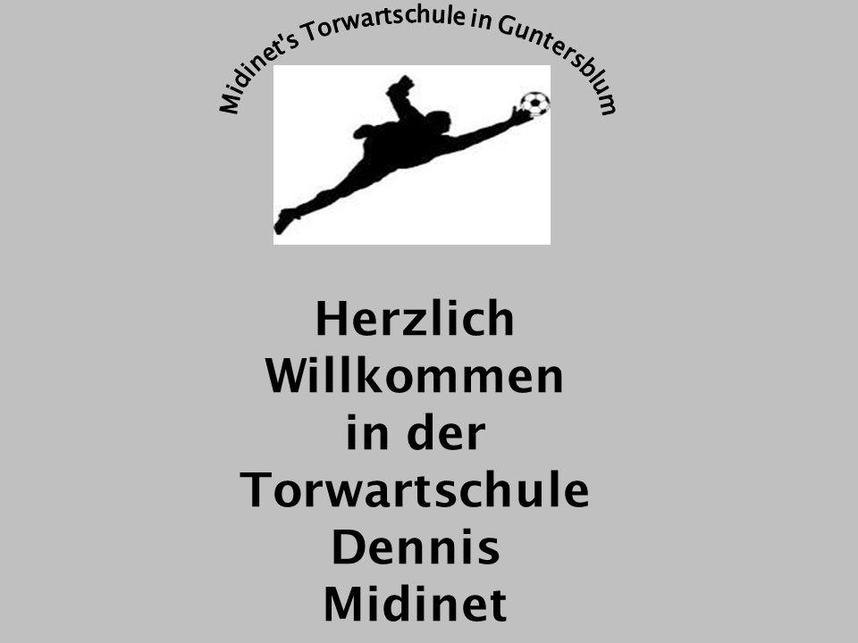 Torwartschule Dennis Midinet - professionelles Torwarttraining Wie viele kleine Vereine haben einen eigenen Torwart-Trainer.
