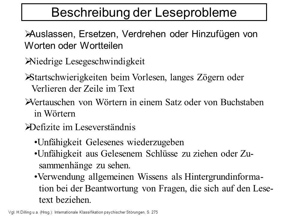 Entwicklungspsychologisches Stufenmodell des Lesenlernens 1.