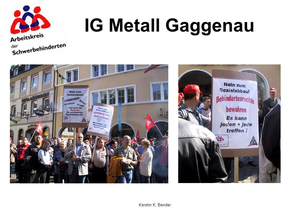 Kerstin K. Bender IG Metall Gaggenau