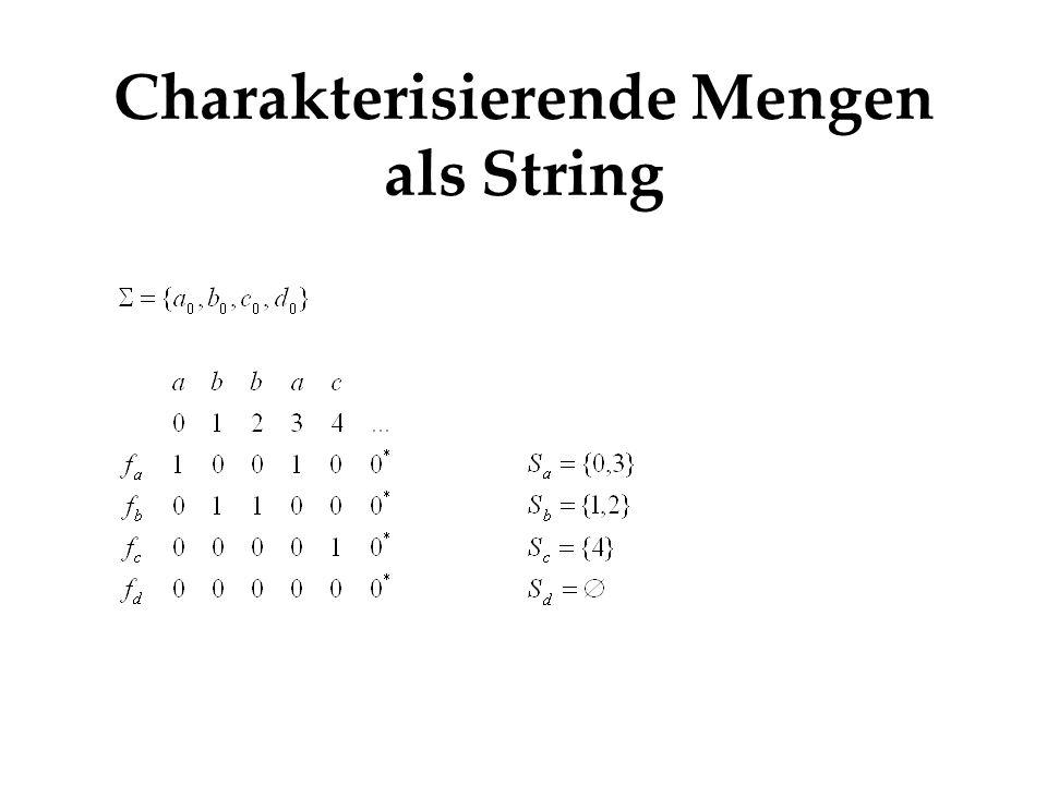 String als Matrix