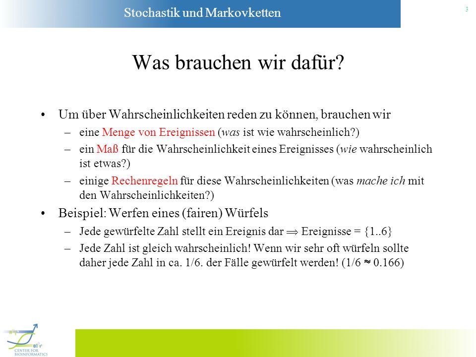 Stochastik und Markovketten 4
