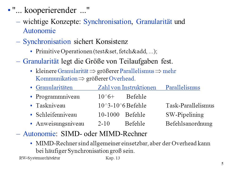 RW-SystemarchitekturKap. 13 5