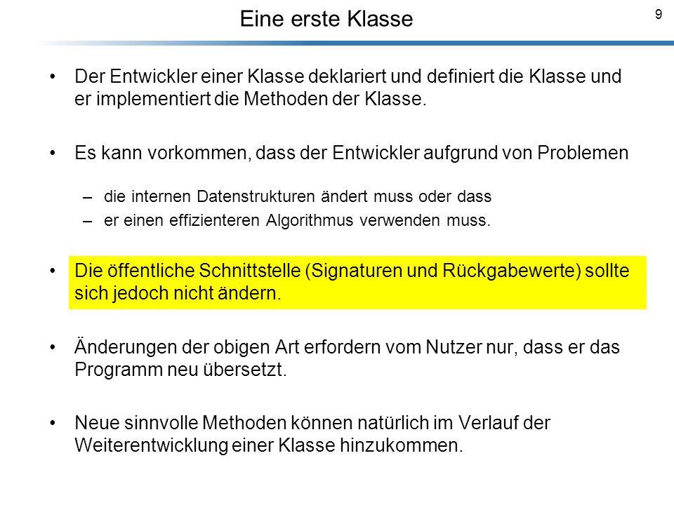 50 Vererbung und Klassifizierung Breymann_Folien Die abgeleitete Klasse erbt alle Eigenschaften (Attribute) und Verhaltensweisen (Methoden) der Basisklasse.