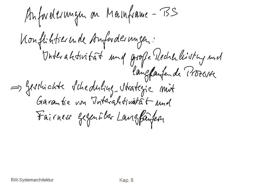 RW-Systemarchitektur Kap. 6