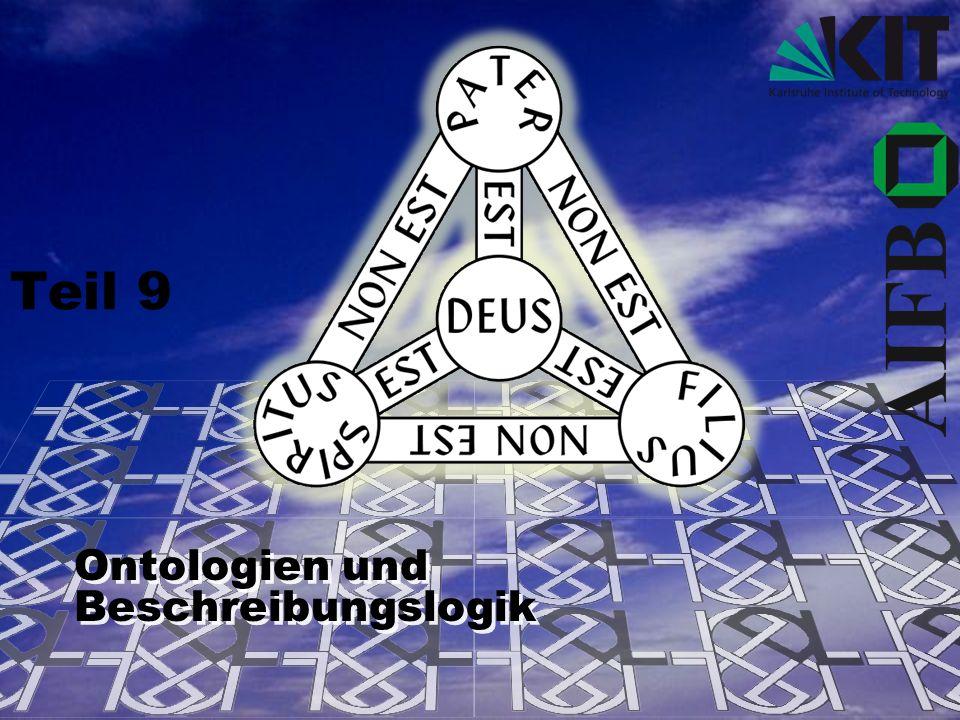 12 Einführung in DLs Beschreibungslogiken (Description Logics, kurz DLs) sind eine Familie von Formalismen für explizite und implizite Repräsentation von strukturiertem Wissen.