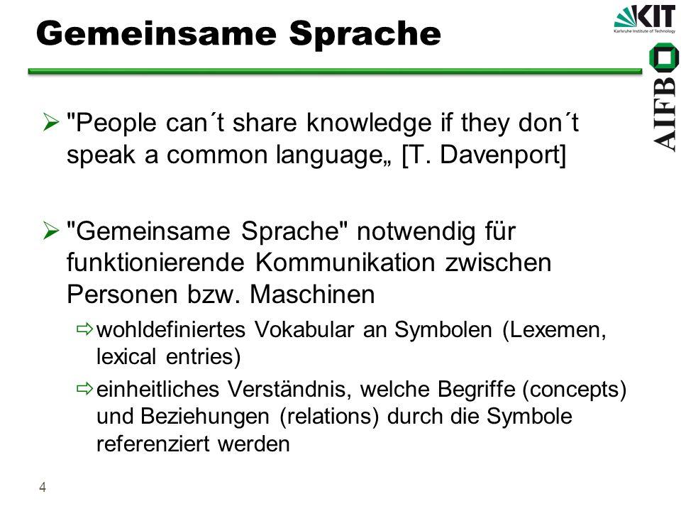 4 Gemeinsame Sprache
