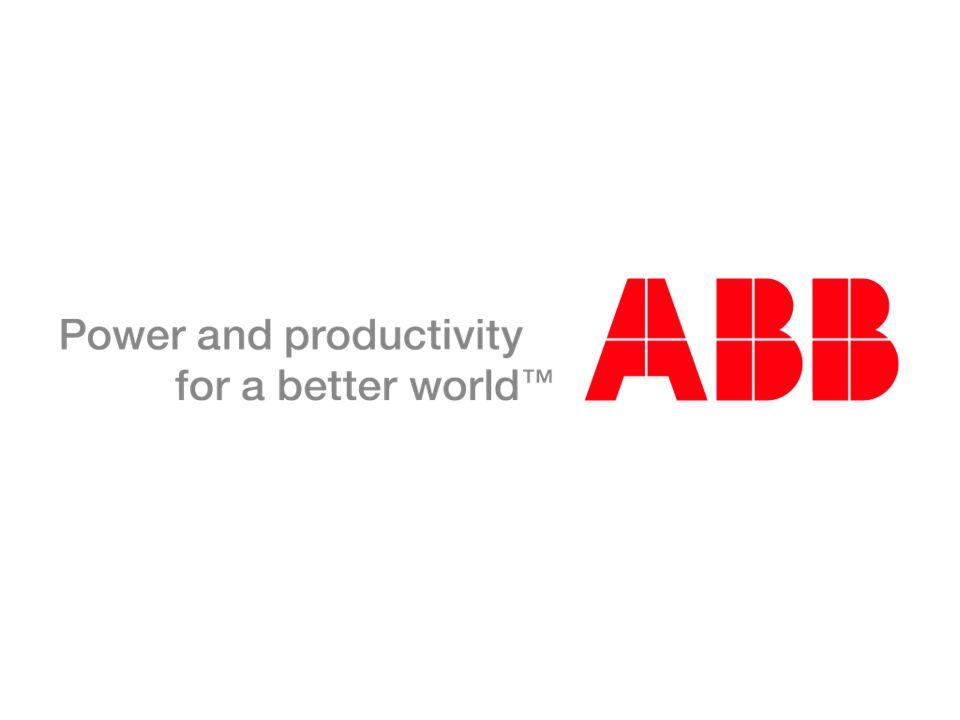© ABB Group November 14, 2013 | Slide 44