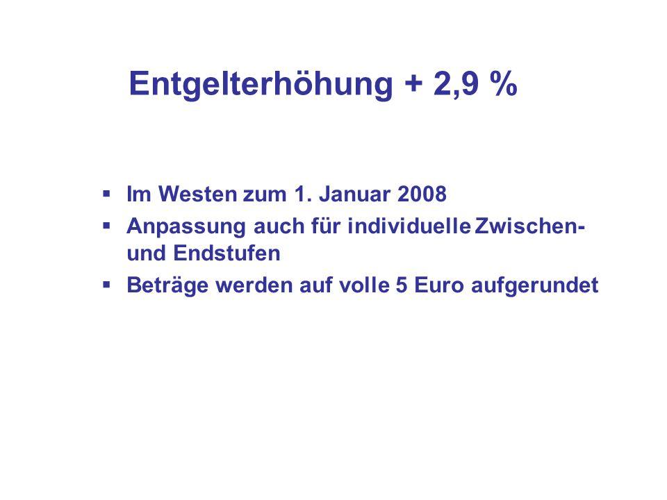 Besonderheiten Stufenzuordnung Besondere Zuordnung von übergeleiteten Beschäftigten aus II a mit 11 bzw.