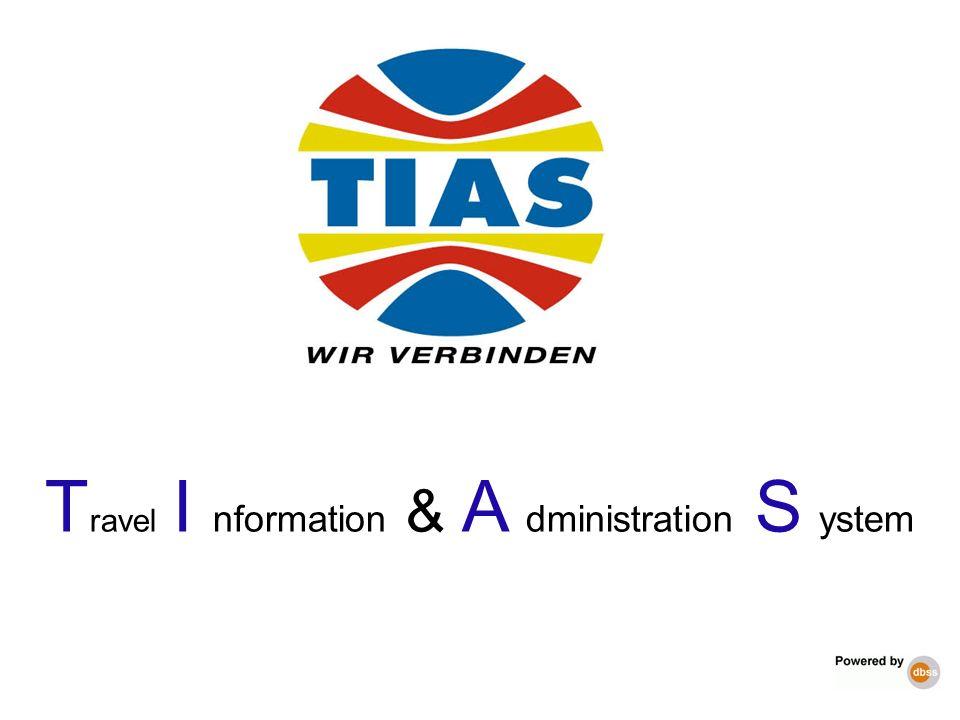 T ravel I nformation & A dministration S ystem