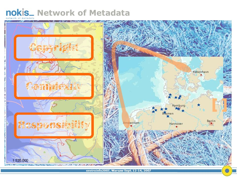 enviroinfo2007, Warsaw Sept. 12-14, 2007 Network of Metadata Who What Where [ ]