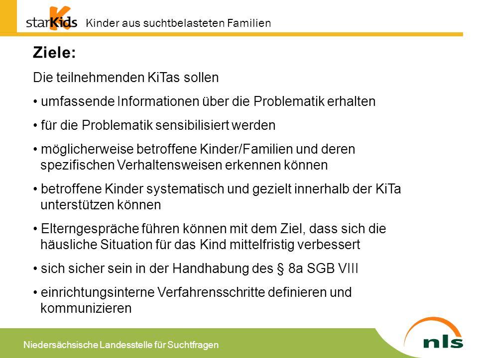 Niedersächsische Landesstelle für Suchtfragen Was kann geleistet werden.