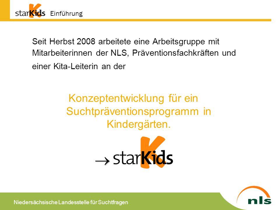 Niedersächsische Landesstelle für Suchtfragen Warum Suchtprävention in Kindertagesstätten.