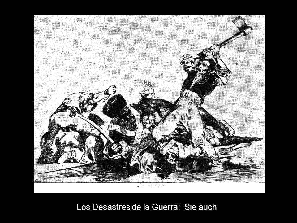 Los Desastres de la Guerra: Sie auch