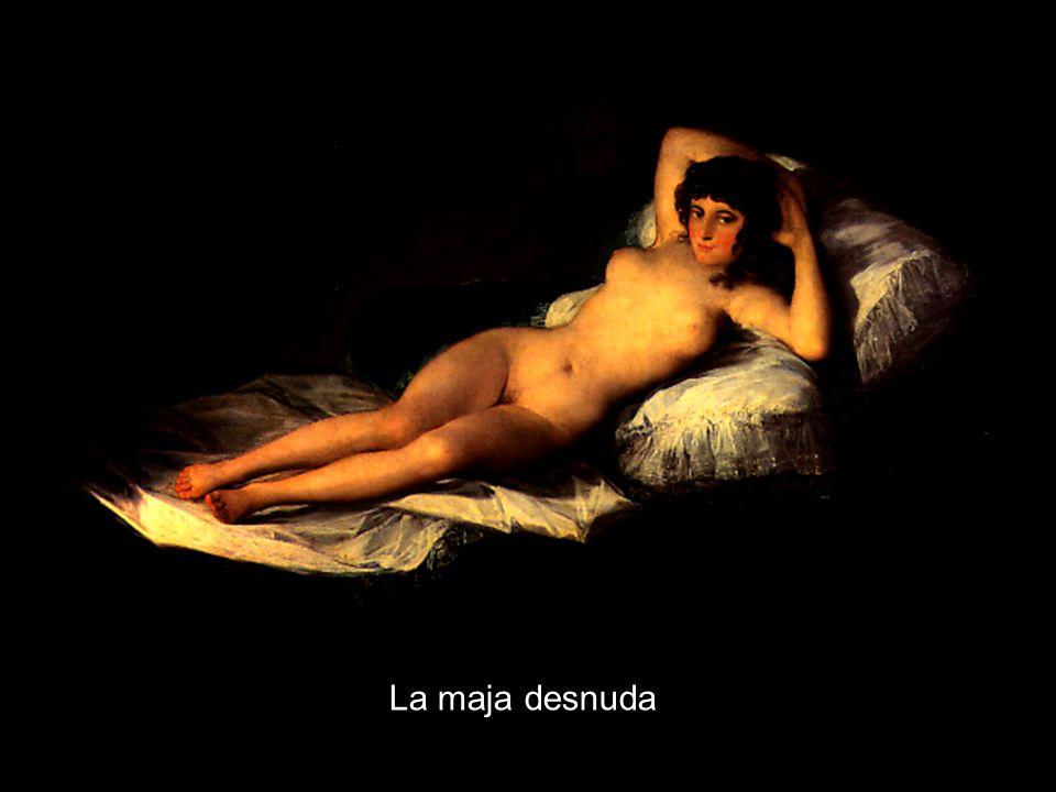 1808im Inventar des Günstlings der Königin de Godoy, der als Mäzen Goya schützte 1815-18nach Entdeckung der Majas im Nachlass Godoys Verfahren der Inquisition