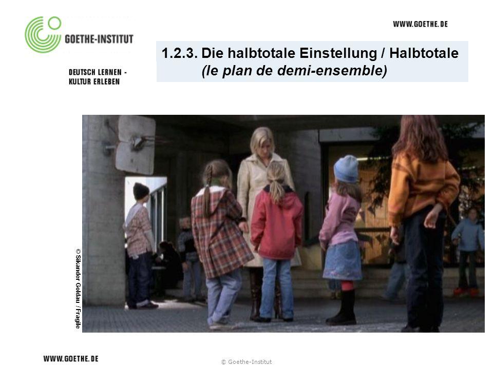 1.2.3. Die halbtotale Einstellung / Halbtotale (le plan de demi-ensemble) © Sikander Goldau / Fragile © Goethe-Institut
