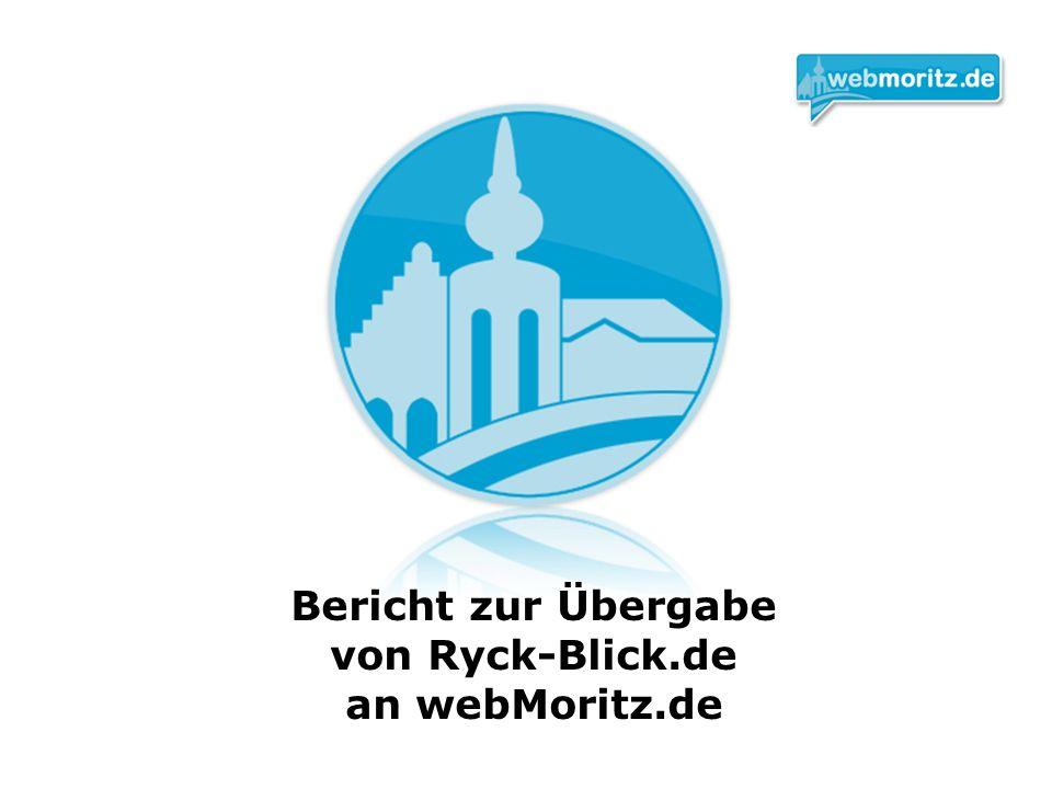 Bericht zur Übergabe von Ryck-Blick.de an webMoritz.de