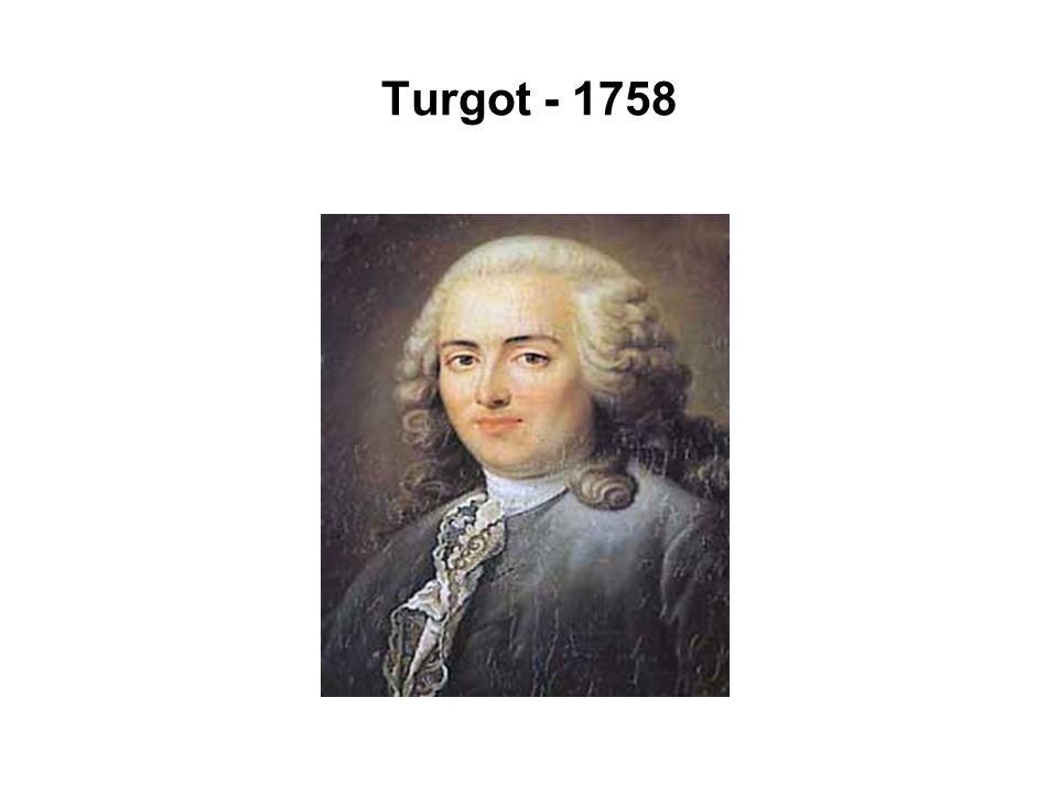Turgot - 1758