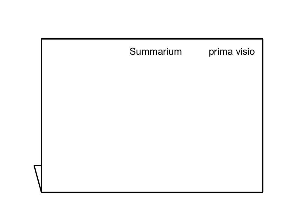 Summariumprima visio
