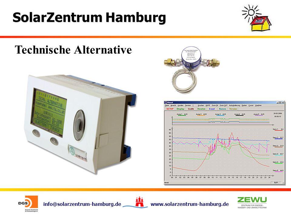 info@solarzentrum-hamburg.de www.solarzentrum-hamburg.de SolarZentrum Hamburg Technische Alternative