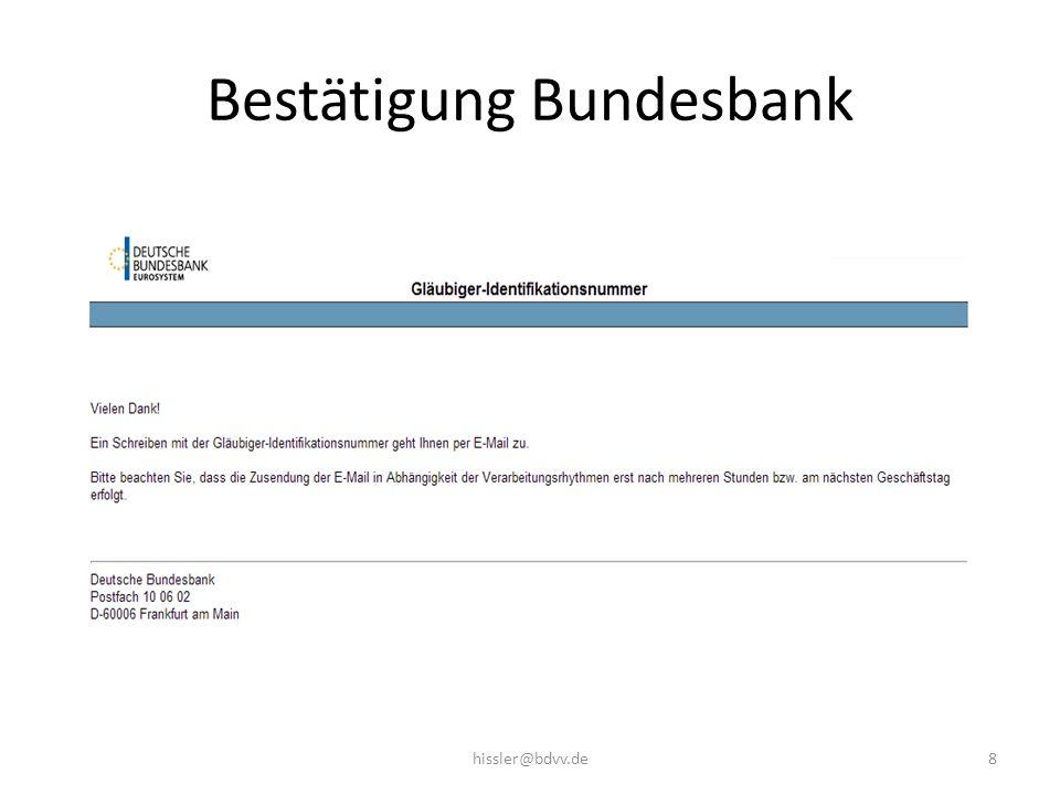 Bestätigung Bundesbank 8hissler@bdvv.de