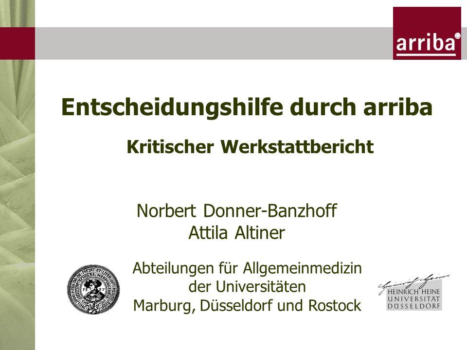 Bausteine + Start Langzeit- Studien absolute relative RR Risiko- formel shared decision making Wirtschaftlichkeit vs.