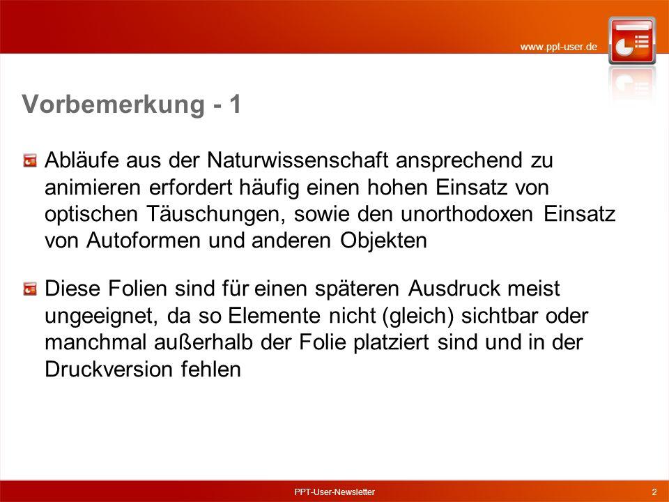 www.ppt-user.de PPT-User-Newsletter13 6 - Aufbau der Wellenlinien