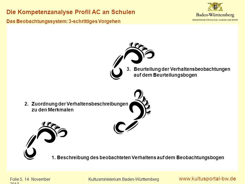www.kultusportal-bw.de Kultusministerium Baden-Württemberg Folie 6, 14.