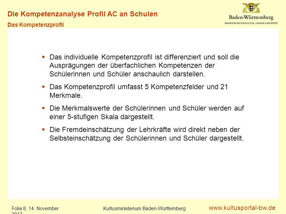 www.kultusportal-bw.de Kultusministerium Baden-Württemberg Folie 9, 14.