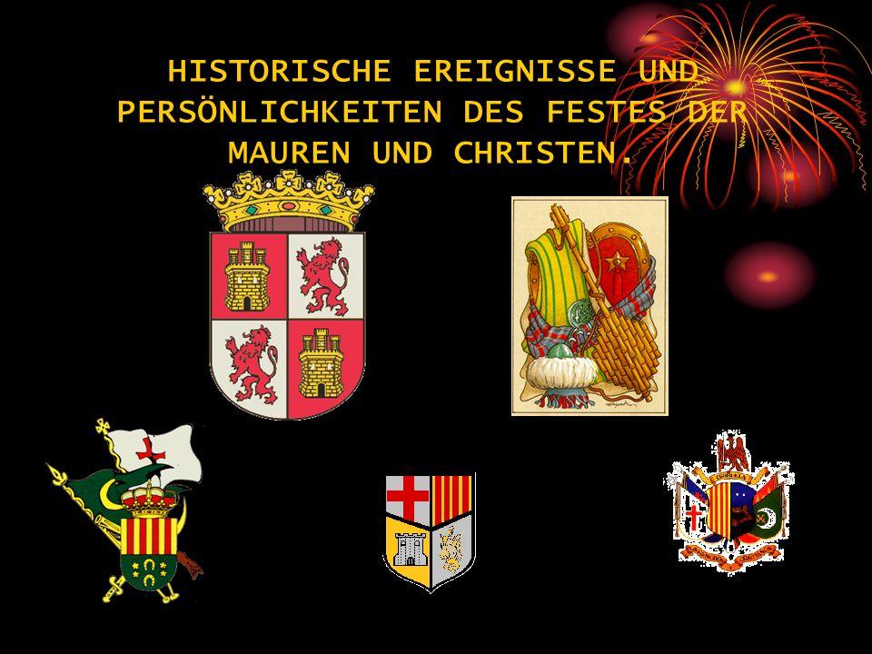 Das Fest der Mauren und Christen gehört zu einer Gruppe von Festlichkeiten mit alter Tradition und historischem Ursprung.