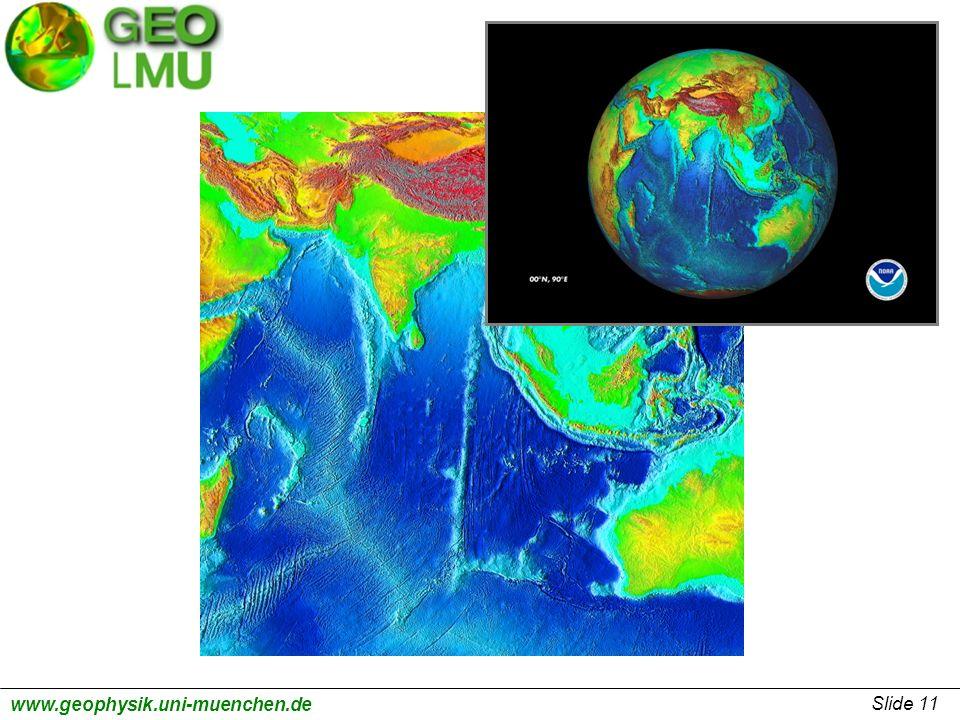 Slide 11 www.geophysik.uni-muenchen.de