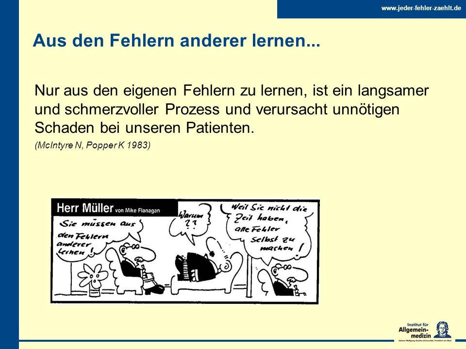 www.jeder-fehler-zaehlt.de Was ist www.jeder-fehler-zaehlt.de.
