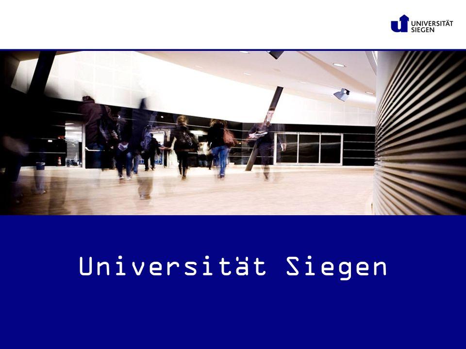 www.uni-siegen.de Universität Siegen