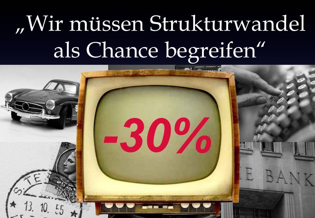 Wir müssen Strukturwandel als Chance begreifen -30%
