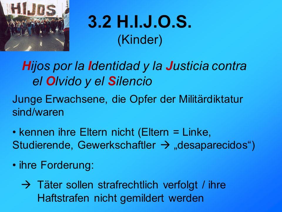 3.2 H.I.J.O.S.