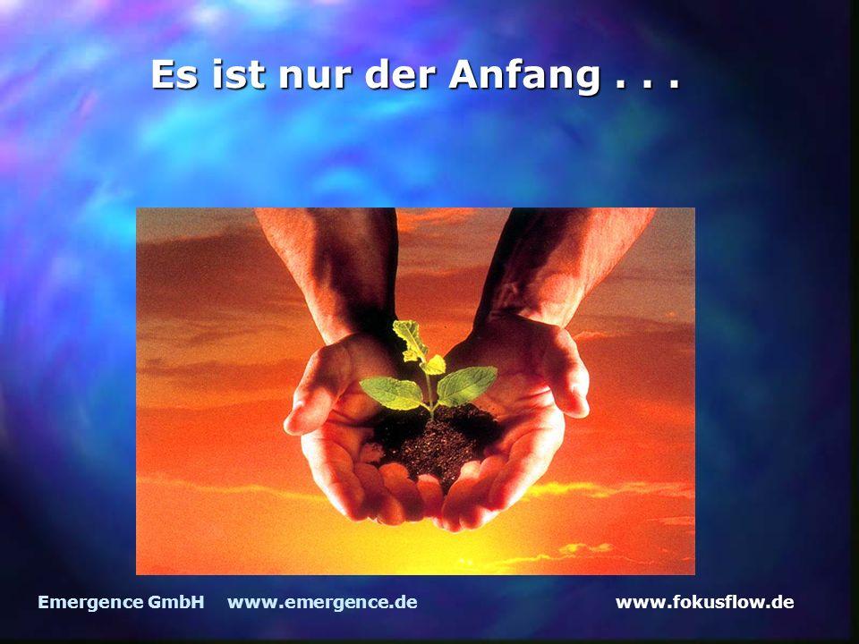 www.fokusflow.deEmergence GmbH www.emergence.de Es ist nur der Anfang...