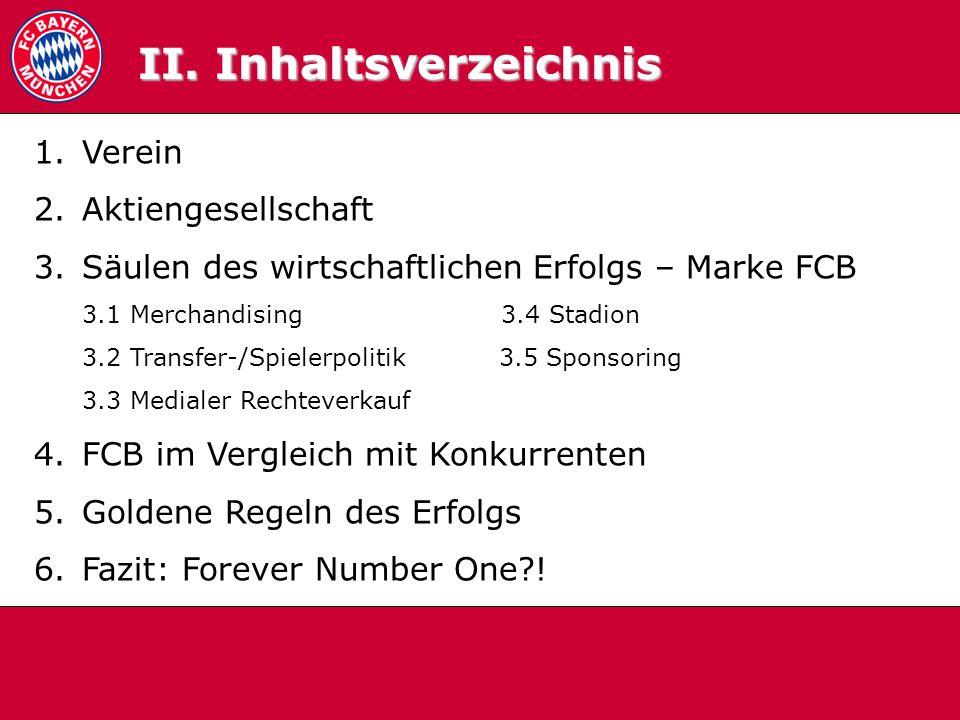 3.5 Sponsoring FCB Strategie: Klasse statt Masse.