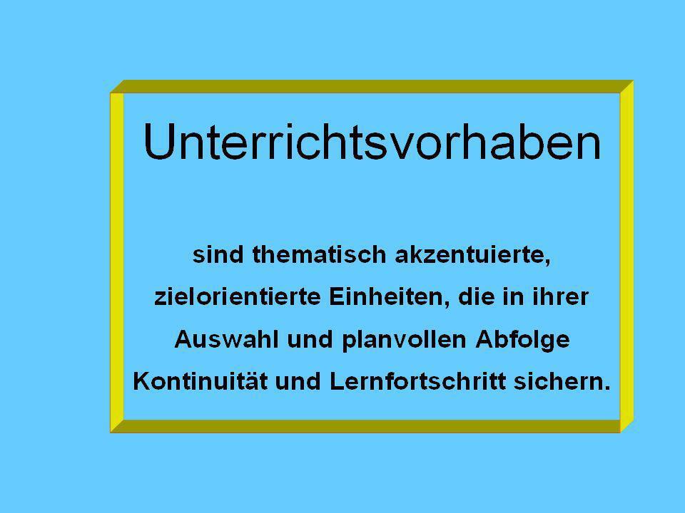 Verbindlichkeiten für die Kursgestaltung - Übersicht Jg.