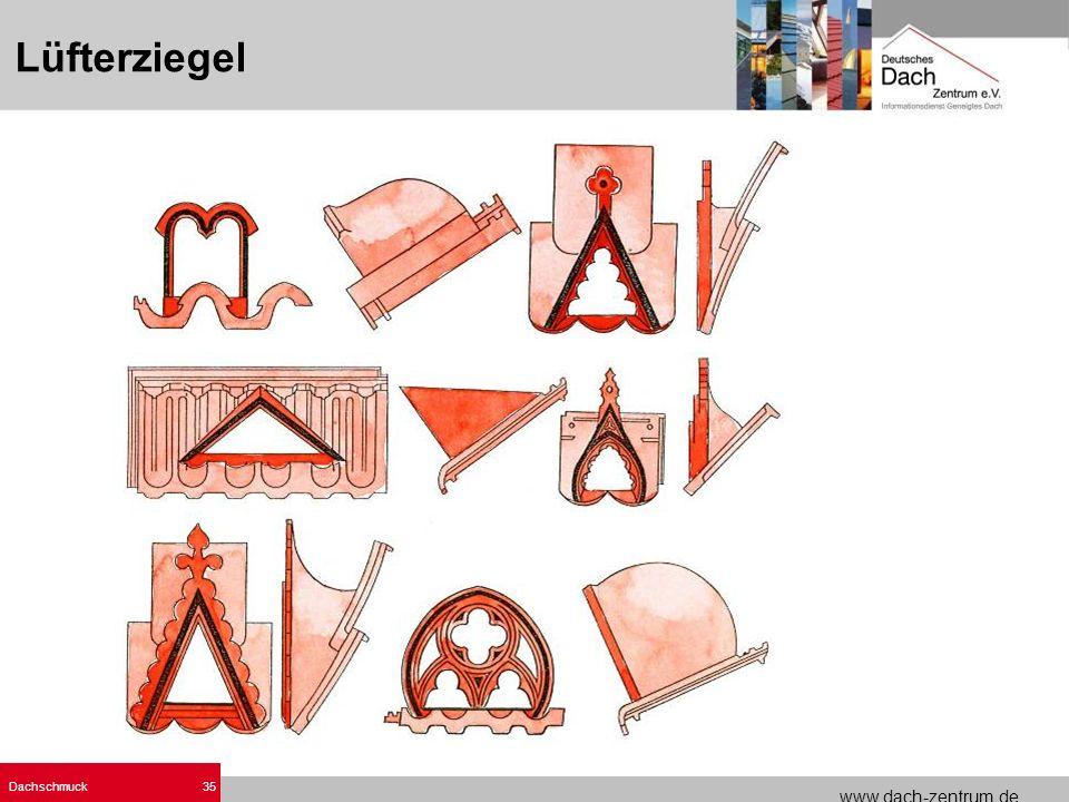 www.dach-zentrum.de Dachschmuck35 Lüfterziegel