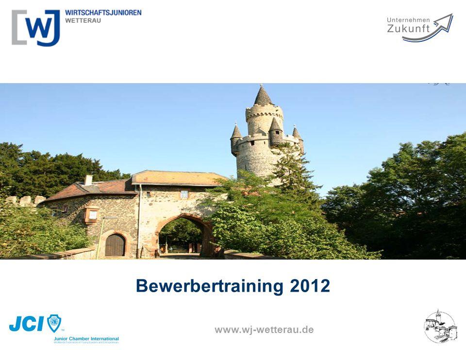 www.wj-wetterau.de Bewerbertraining 2012