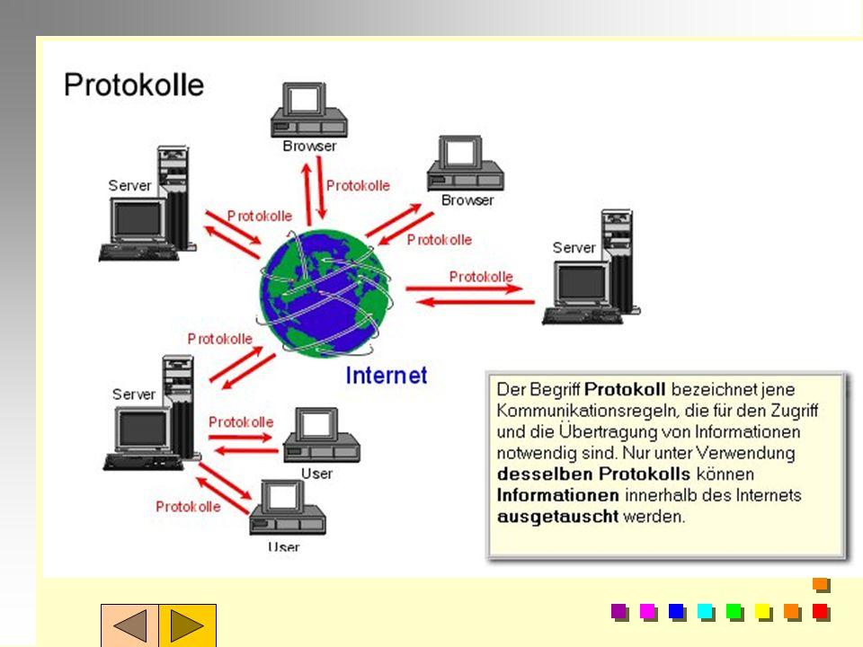 Was versteht man im Internet unter dem BegriffProtokoll?---------------------------------------- Erläutern Sie die Funktion von mindestens 2 Protokoll