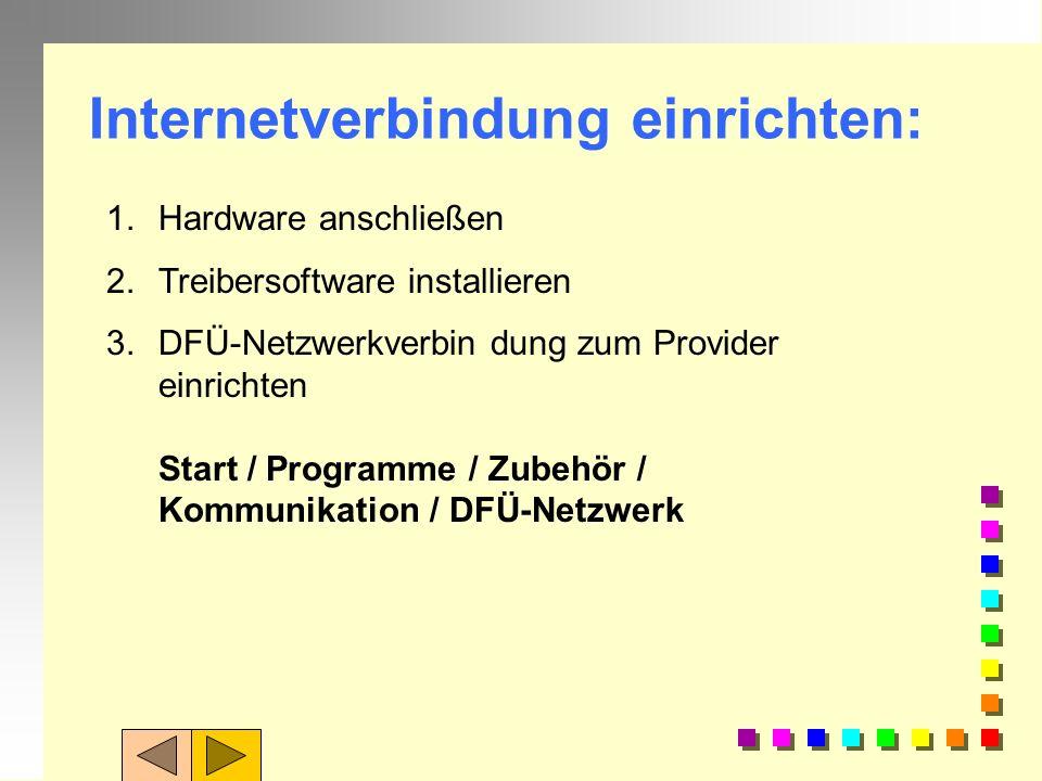 Aufgaben 4: Beschaffen Sie sich über das Internet weitere Informationen: n 1. Was ist DSL / ADSL n 2. Welche Provider gibt es in/um Ravensburg?