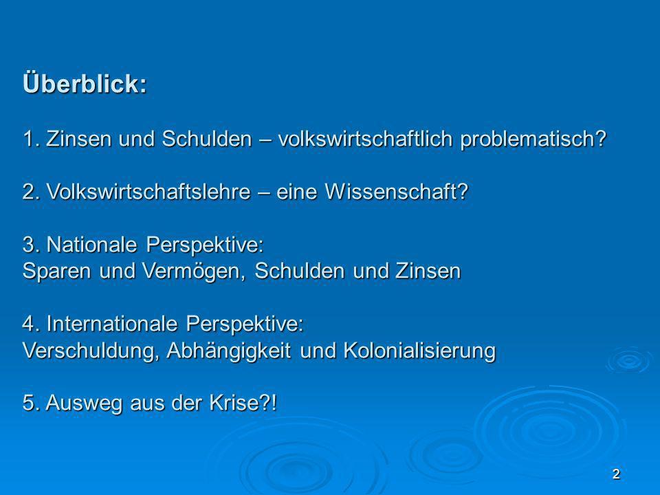63 Die große Krötenwanderung Über die Verteilungsfolgen von Zins und Zinseszins Jürgen Kremer RheinAhrCampus Remagen