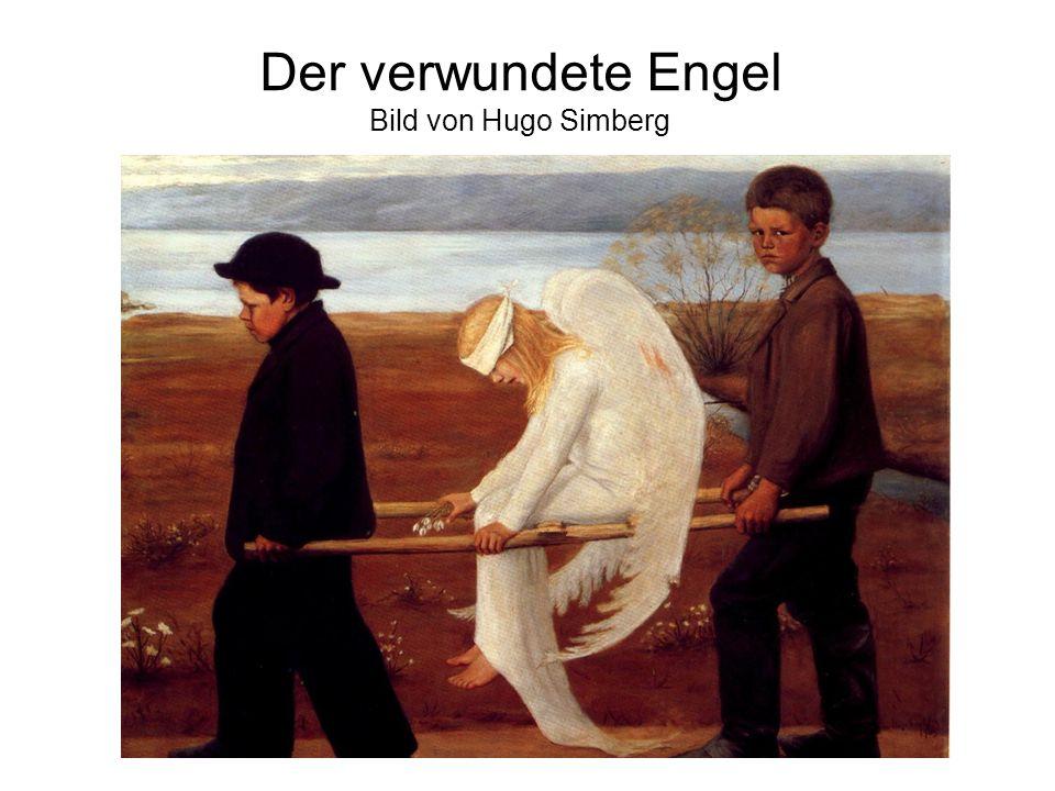 Der verwundete Engel Bild von Hugo Simberg